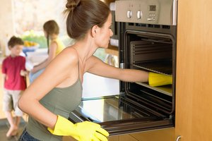 Green, homemade stovetop and oven cleaners are an effective and eco-friendly way to remove baked-on gunk.