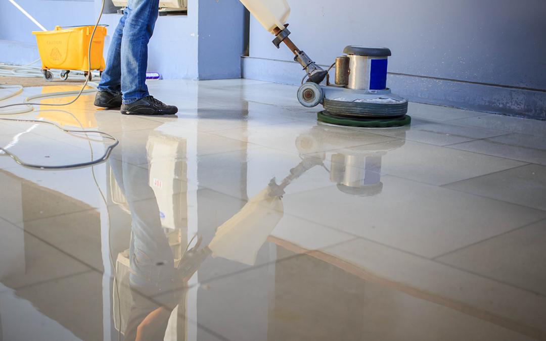 Commercial Floors – Strip & Wax